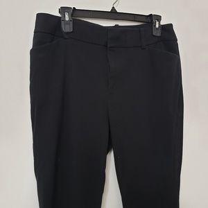 A New Day Women's 12 Black Stretch Work Pants